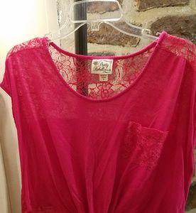 Pretty Rebellious pink top